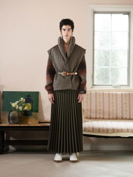 FUMIE TANAKA国际品牌时尚马甲外套
