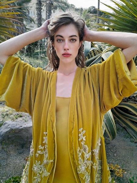 Ezgi Cinar国际品牌品牌2020春夏宽松时尚黄色外套