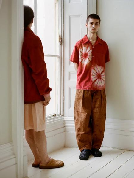 STORY mfg国际品牌2020春夏纯棉复古衬衫