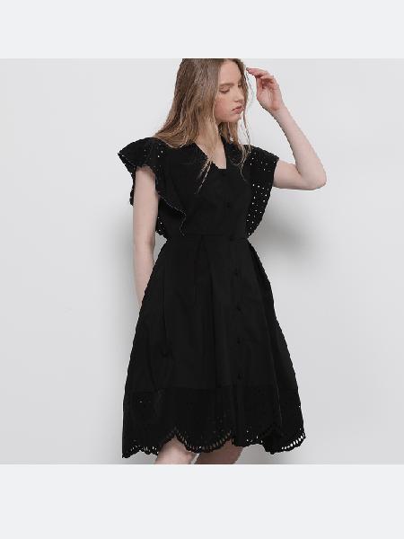 SJYP国际品牌2020春夏短款迷你连衣裙
