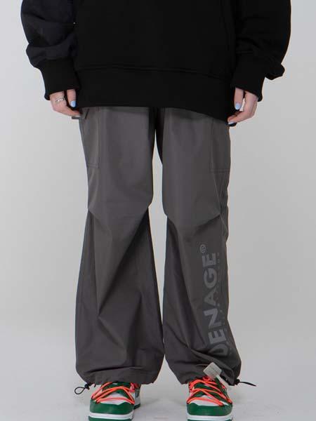de-nage国际品牌品牌宽松休闲男生工装裤