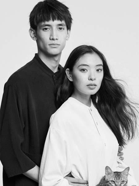 单农男装品牌2020春夏白色黑色宽松T恤男女情侣装