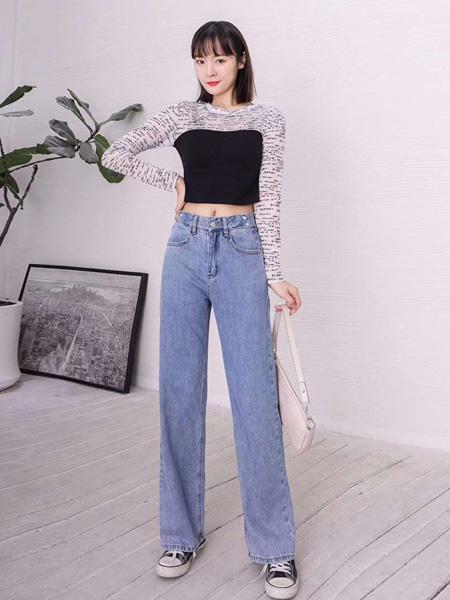 buxuan不宣女装品牌2020春夏时尚假两件上衣衬衣