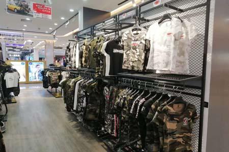 军时力品牌店铺展示