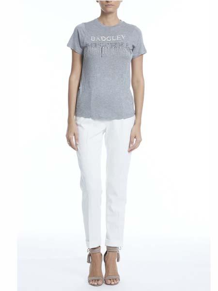 BADGLEY MISCHKA国际品牌2020春夏纯棉印花短袖