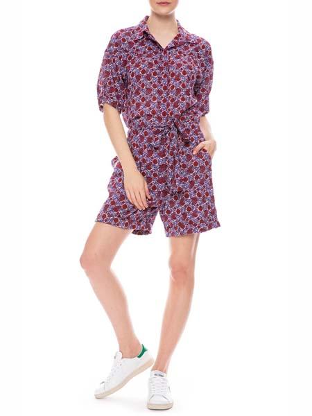 Ron Herman国际品牌2020春夏雪纺舒适连体裤短裤款