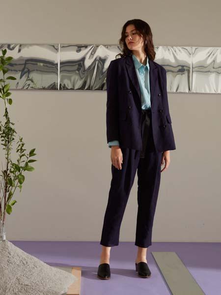 Allumer国际品牌2020春夏时尚知性职场西装套装