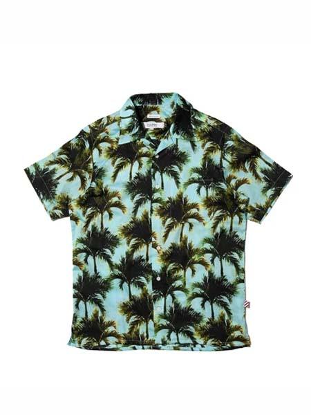 Freemans Sporting Club国际品牌品牌2020春夏时尚森系衬衫短袖
