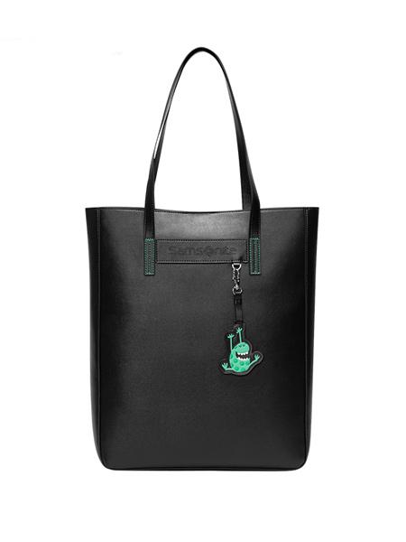 新秀丽箱包品牌单肩包女2020新款挂件个性托特包多彩手提包