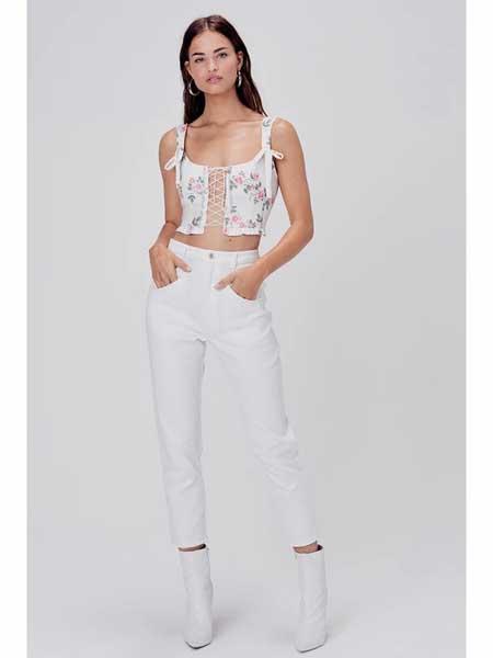 For Love Lemons国际品牌品牌2020春夏时尚吊带上衣