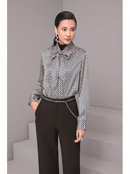 GELING 歌玲女装品牌2020春夏知性职场女性衬衣