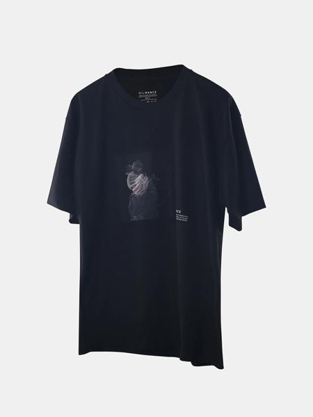 NILMANCE国际品牌圆领纯棉短袖t