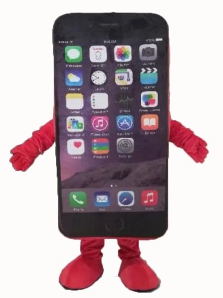 新款手机卡通服厂家直销来图定制毛绒宣传卡通服人偶服装