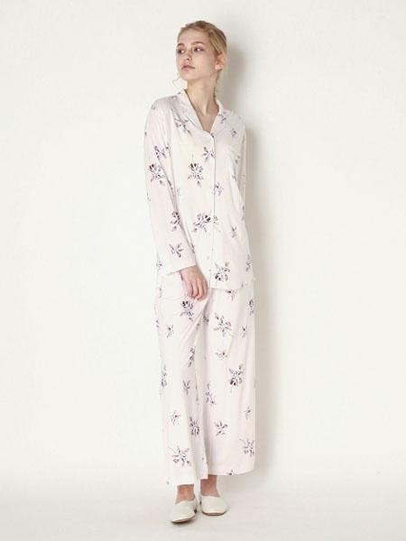 usagi-online国际品牌2020春夏棉麻轻肤睡衣套装