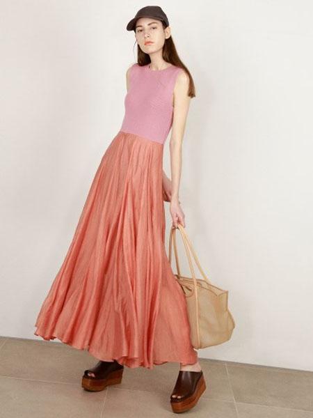usagi-online国际品牌品牌2020春夏修身无袖针织背心