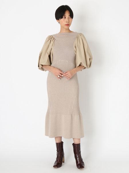 usagi-online国际品牌品牌2020春夏时尚知性女性连衣裙