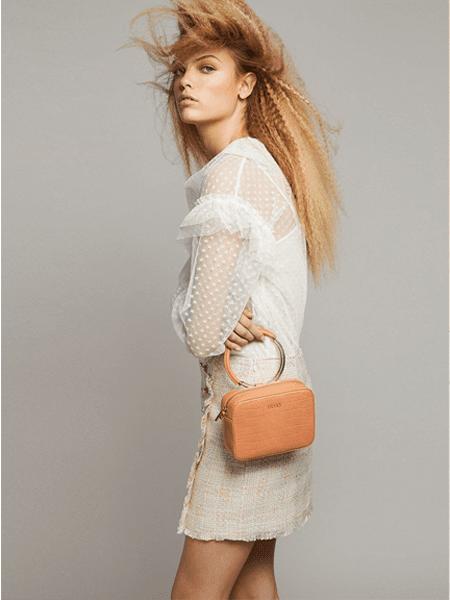 LIU JO国际品牌2020春夏知性蕾丝连衣裙
