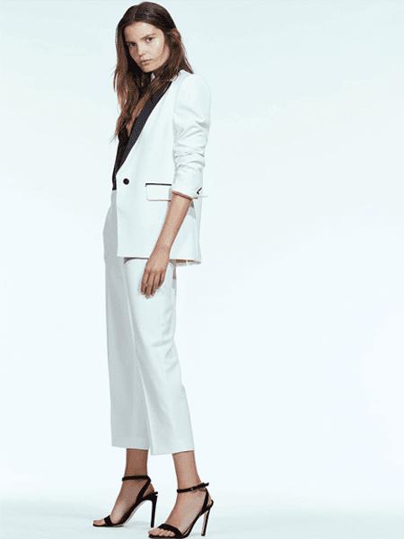 LIU JO国际品牌2020春夏时尚复古西装套装