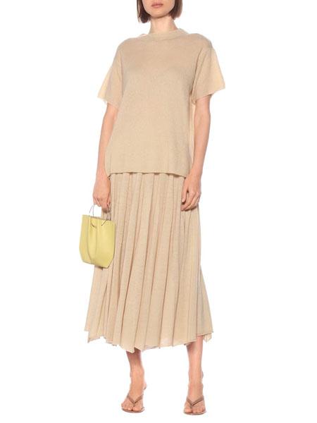 ryan roche国际品牌肤色圆领短袖
