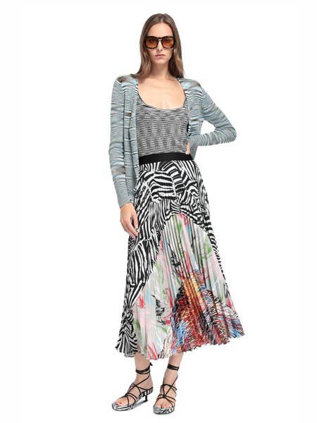 M Missoni国际品牌2020春夏时尚条纹开衫外套