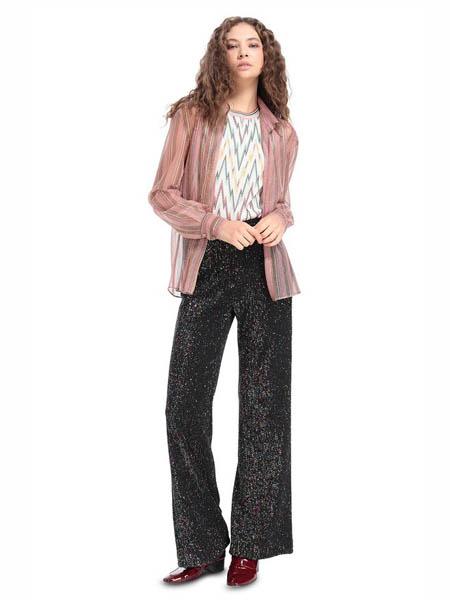 M Missoni国际品牌品牌2020春夏知性粉色防晒衫外套