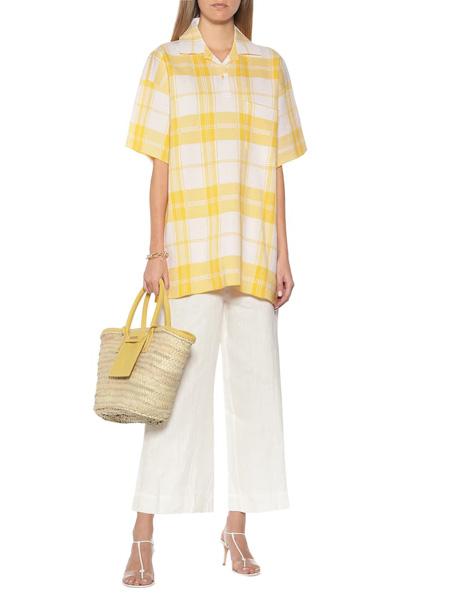 Jacquemus国际品牌品牌2020春夏休闲复古衬衫短袖