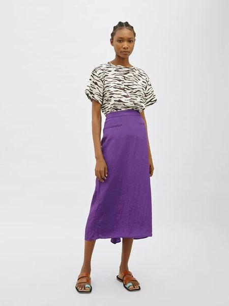 Rejina Pyo国际品牌品牌2020春夏个性豹纹纯棉短袖