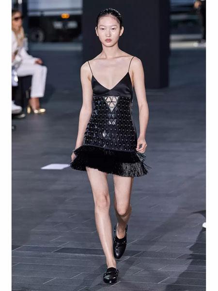 David Koma国际品牌品牌2020春夏时尚性感吊带裙