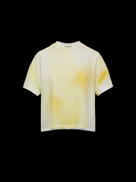 Moncler Gamme Rouge国际品牌2020春夏圆领印花吸汗T恤