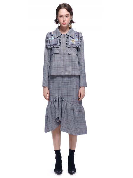 LABRIELLS国际品牌品牌时尚小香风套装裙