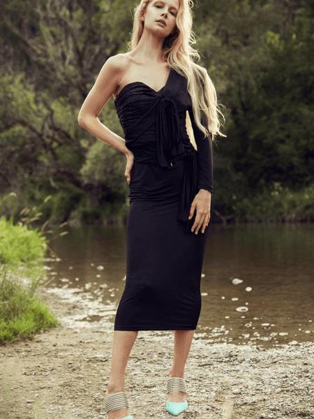 Nana Gotti国际品牌修身性感连衣裙