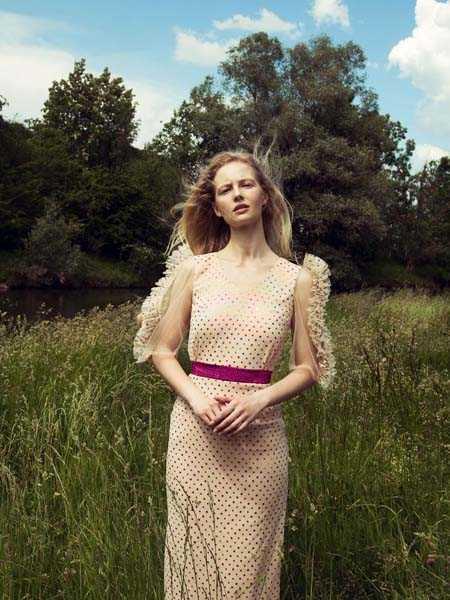 Nana Gotti国际品牌复古法式连衣裙