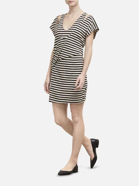 Kenneth Cole国际品牌品牌2020春夏时尚纯棉连衣裙
