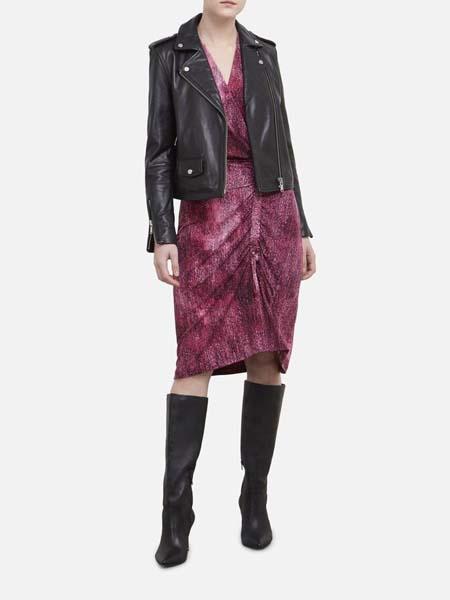 Kenneth Cole国际品牌2020春夏酷炫皮衣夹克衫