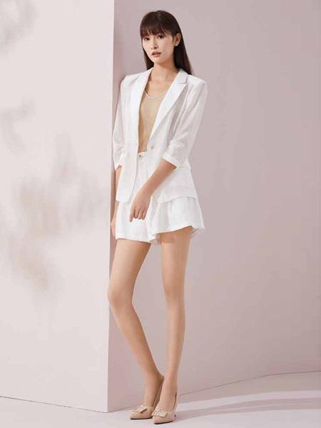 迪图女装品牌2020春夏知性时尚西装裤