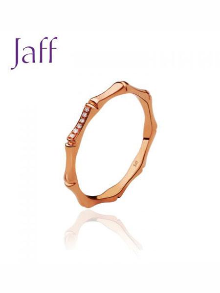 jaff国际品牌品牌红色18K钻石戒指希望系列