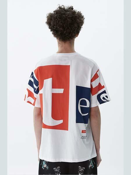 HEICH BLADE女装品牌2020春夏白色圆领T恤