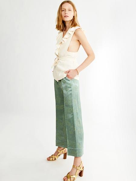 Vanessa Bruno Athe国际品牌2020春夏休闲复古知性套装