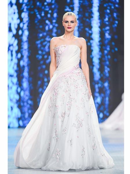 Valentin Yudashkin国际品牌2020春夏网纱梦幻蓬蓬裙