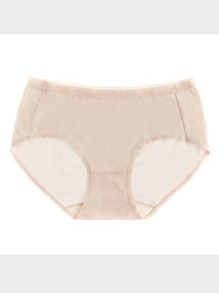秀黛内衣品牌2020春夏女士净版莫代尔平角裤夏季新款轻薄舒适薄款高腰提臀内裤¥25.00