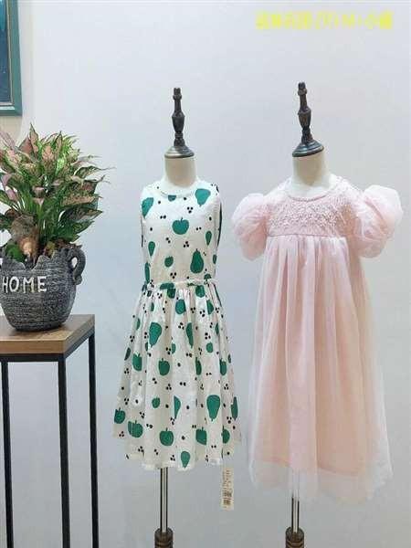 韩国家品牌夏装 韩版时尚品牌童装折扣走份 淘宝直播正品货源