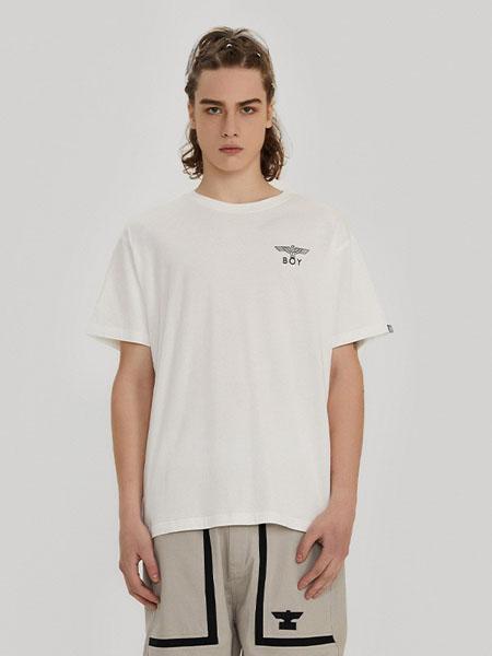 BOYLONDON男装品牌2020春夏宽松潮流街头风T恤