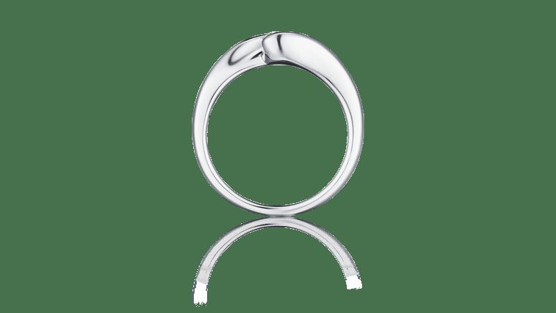 I-PRIMO国际品牌品牌18k白金钻石戒指女时尚求婚结婚镶钻戒指指环