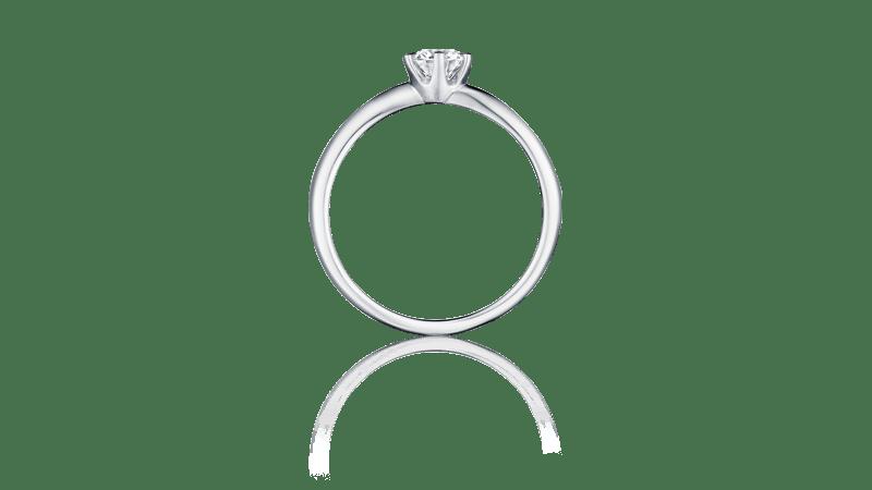 I-PRIMO国际品牌品牌白18K金钻石戒指女款时尚气质简约群镶钻戒指