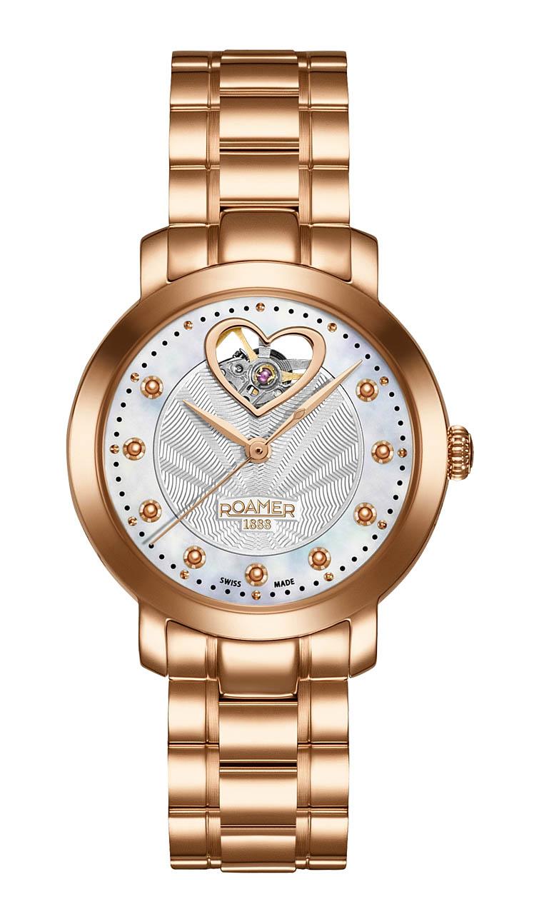 ROAMER国际品牌品牌银河流星系列机械商务手表