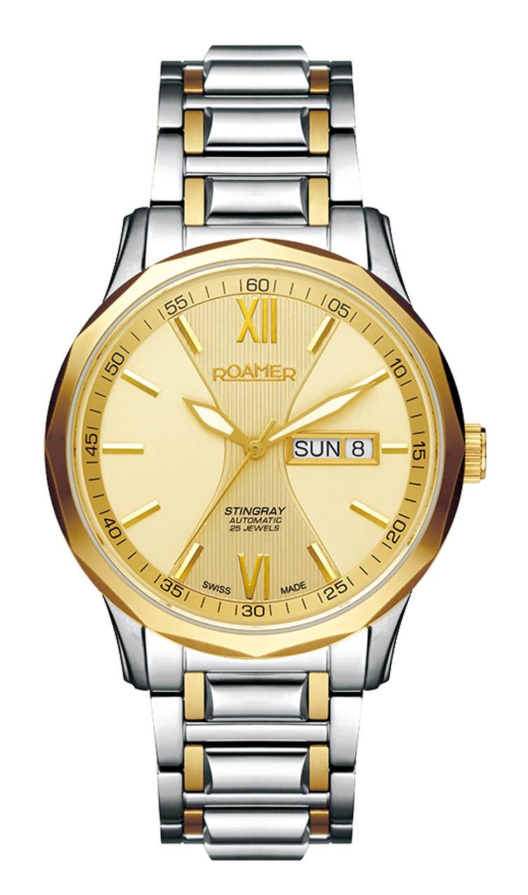 ROAMER国际品牌品牌瑞美系列机械商务白金手表