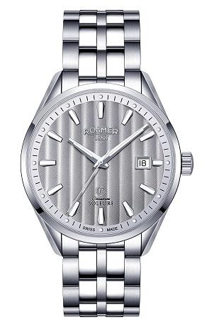 ROAMER国际品牌瑞美系列机械商务白金手表