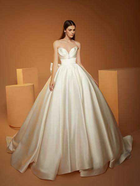 AOLISHA国际品牌品牌2020春夏豪华婚纱礼服森系婚纱新款新娘拖尾