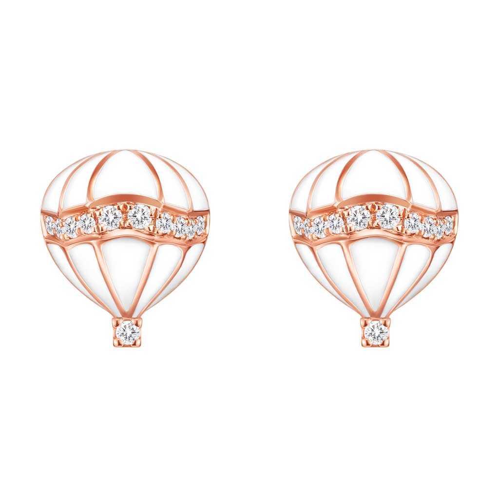 金伯利钻石国际品牌品银耳环女气质百搭耳钉耳坠
