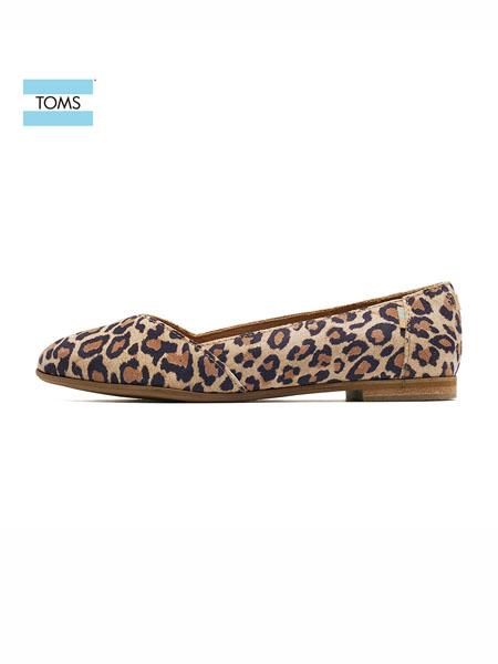Toms国际品牌女鞋镂空平底鞋女士尖头浅口单鞋通勤鞋